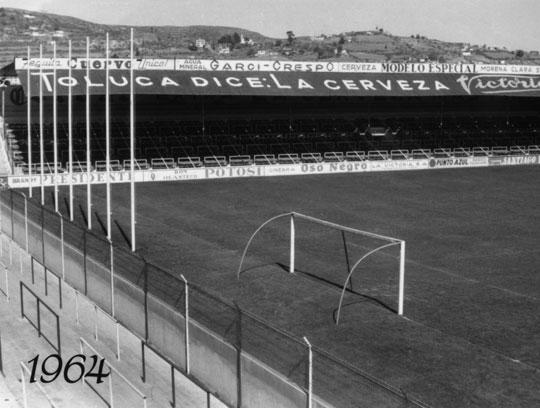 Estadio Nemesio Diez Deportivo Toluca 1964