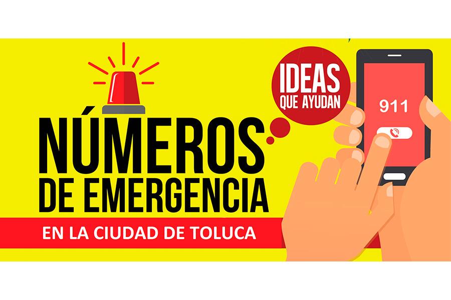 Números de emergencia Toluca