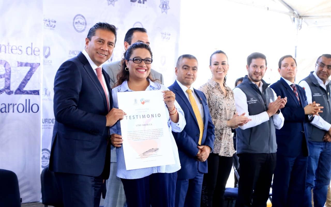 Programa Ambientes de Paz y Desarrollo en Toluca
