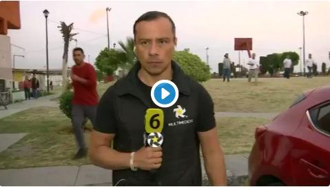 Asaltan y golpean a reportero y camarografo en Edomex
