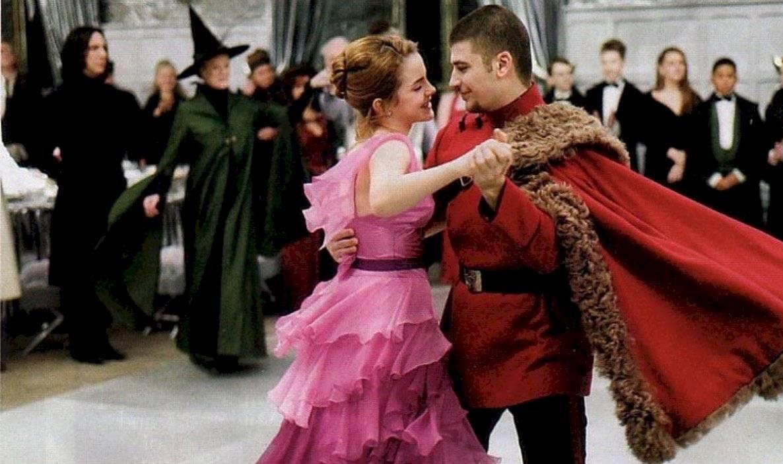 Baile navideño de Harry Potter