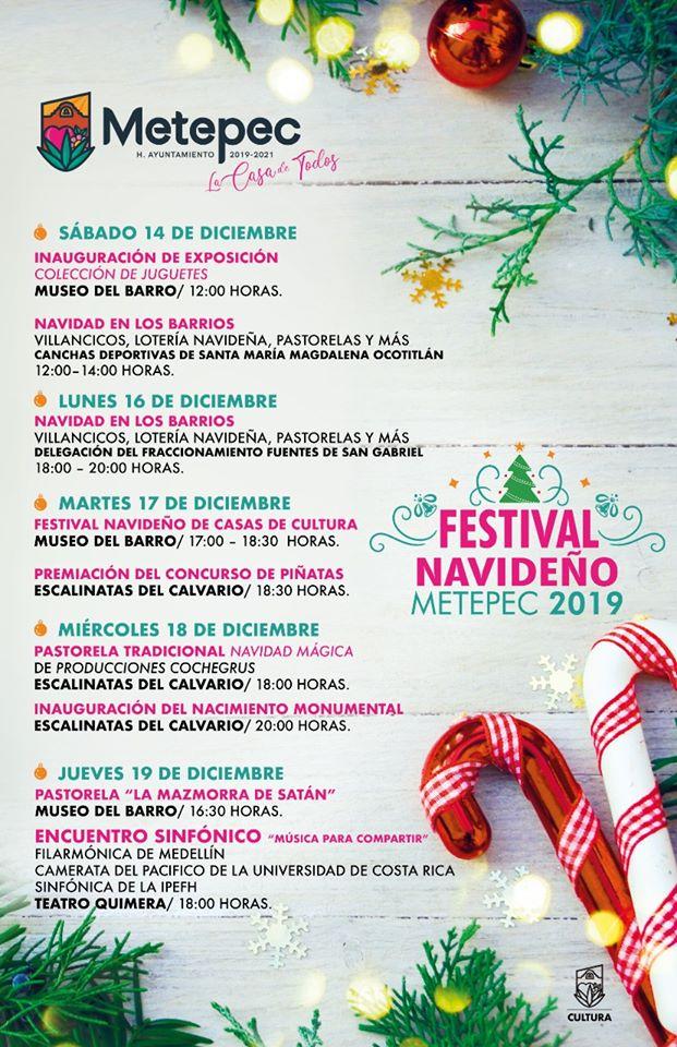 Festival Navideño en Metepec