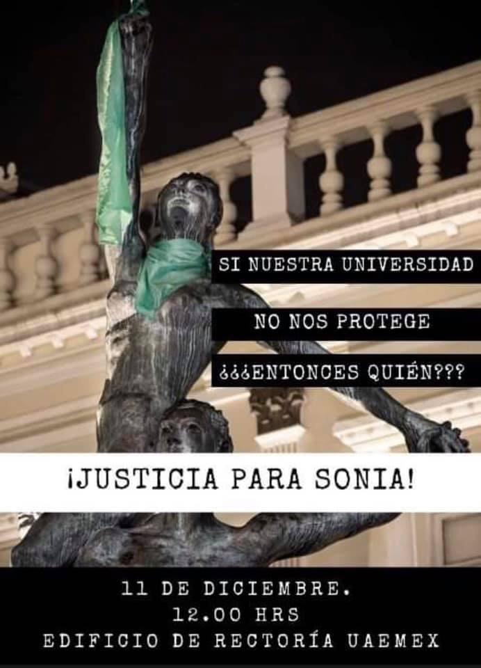 justicia para sonia
