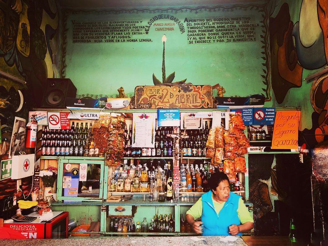 Garañona Bar Dos de Abril en Metepec