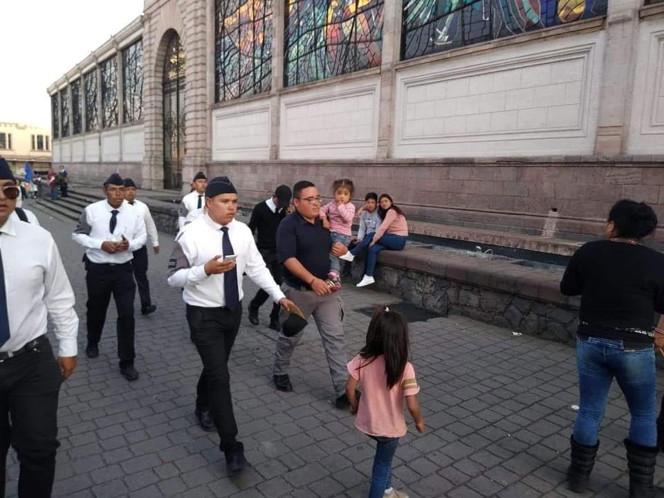 Cadetes de Toluca localizan niña extraviada en menos de 10 minutos