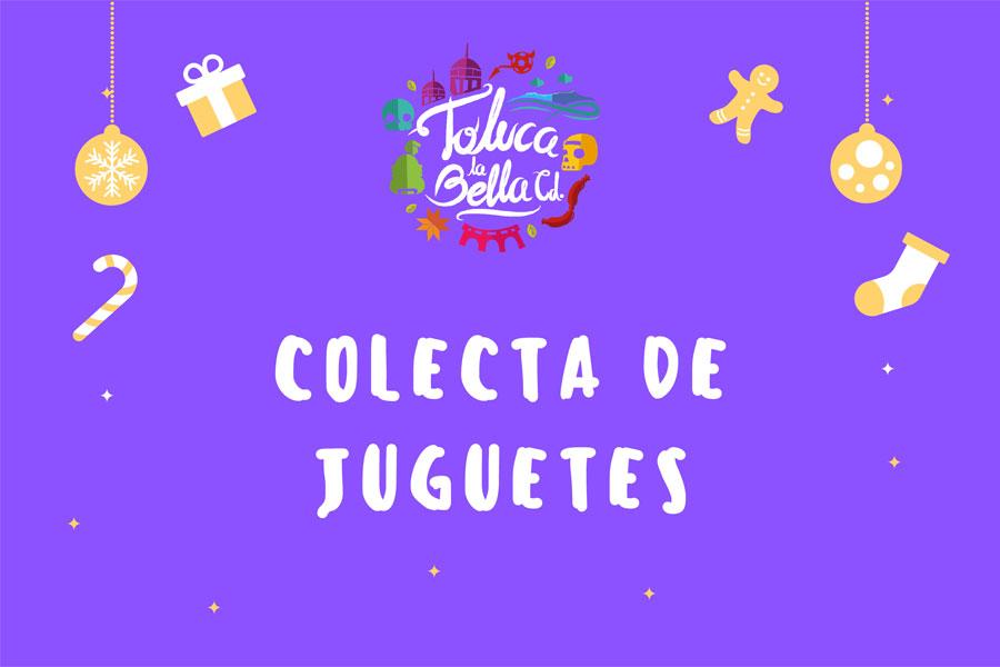 Colecta de juguetes Toluca 2020