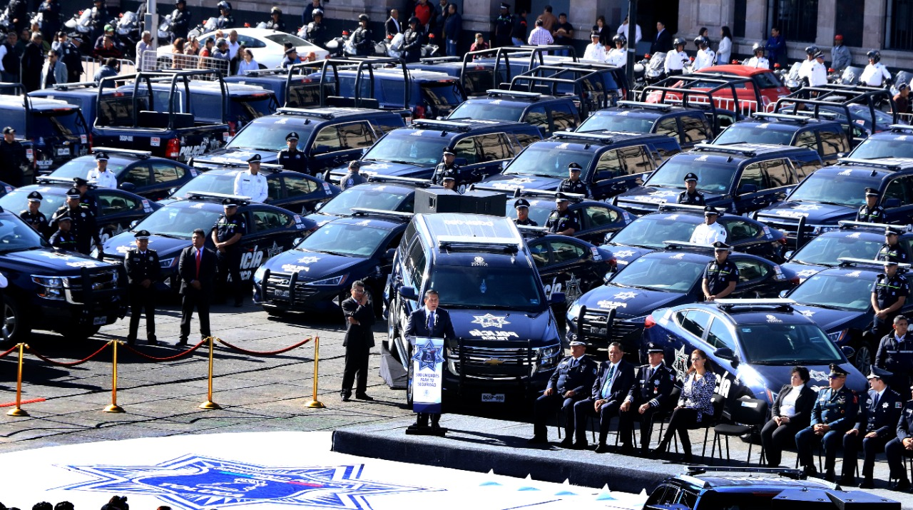 500 nuevas patrullas en Policía de Toluca