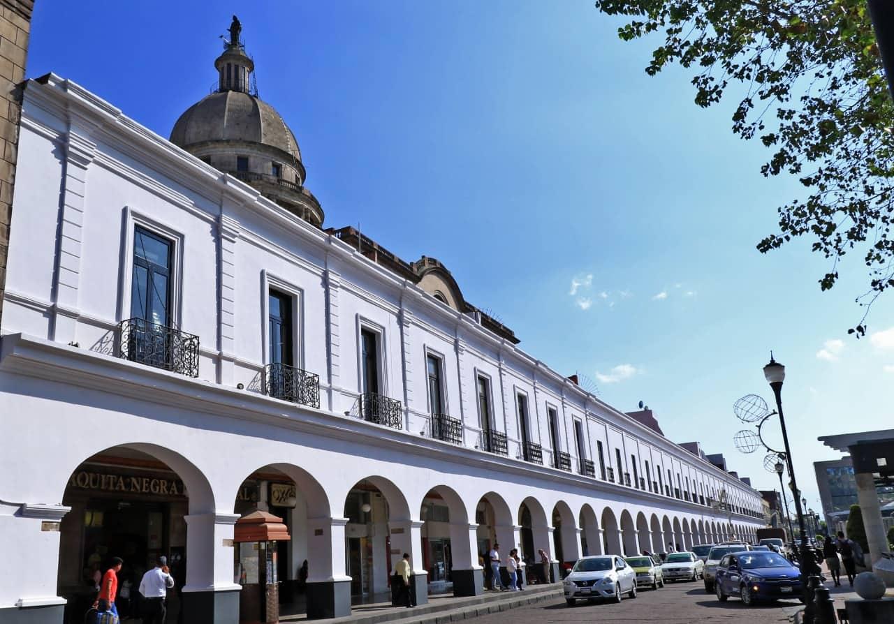 Portales de Toluca, Primer Informe de Gobierno