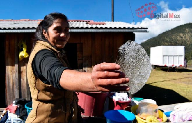 Bajas temperaturas Nevado de Toluca