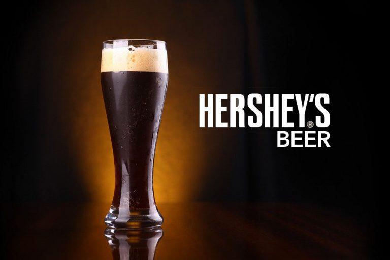 Cebada y chocolate; la combinación de la nueva cerveza Hershey´s