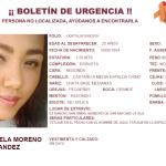 Cintya desapareció en San Antonio la Isla