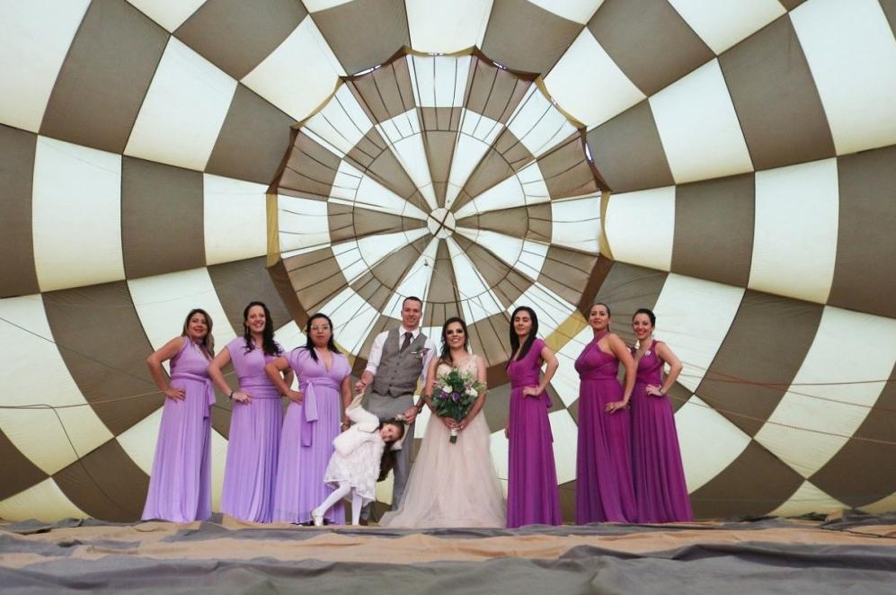 boda civil en globo aerostático edomex