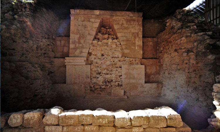 Descubren un nuevo pasaje secreto dentro del Palacio de Gobernador en Uxmal, Yucatán