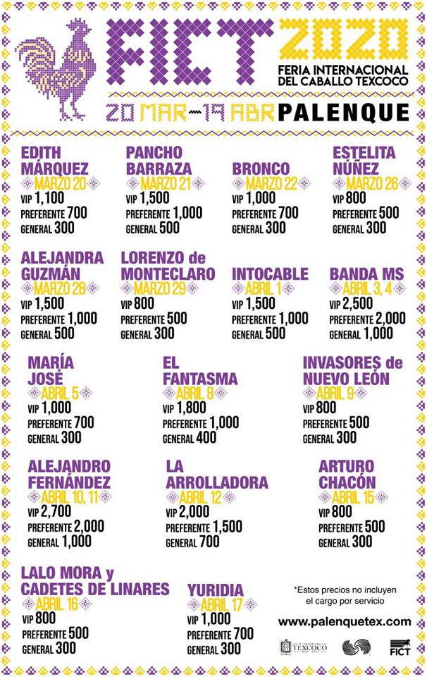Feria Internacional del Caballo 2020 en Texcoco