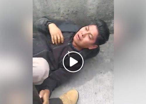 Graban acosador sexual de Toluca mientras es golpeado