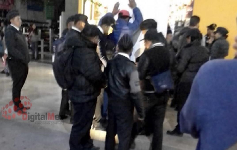 Detienen cadetes de Toluca a acosador en el centro