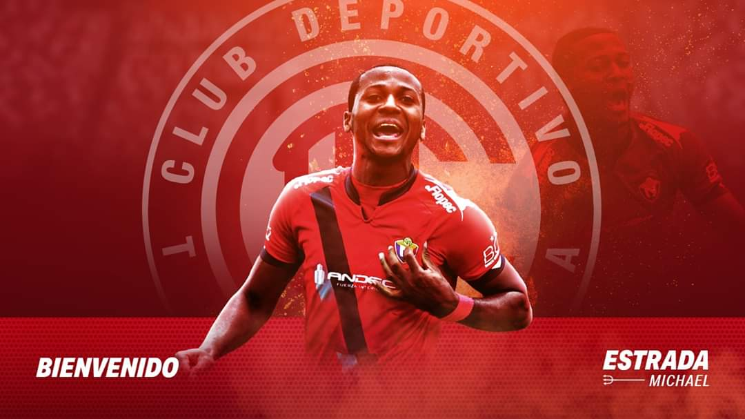 El ecuatoriano Michael Estrada es nuevo jugador del Toluca FC