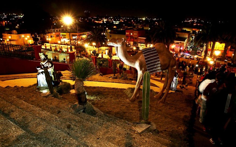 nacimiento monumental Metepec