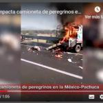 Tráiler impacta peregrinos en la México Pachuca