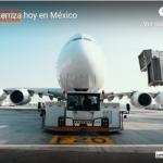 Emirates Airline aterrizó hoy en México