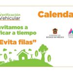 Calendario de verificación vehicular