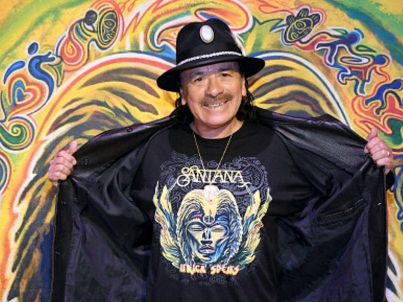 Carlos Santana promoverá su cepa de marihuana