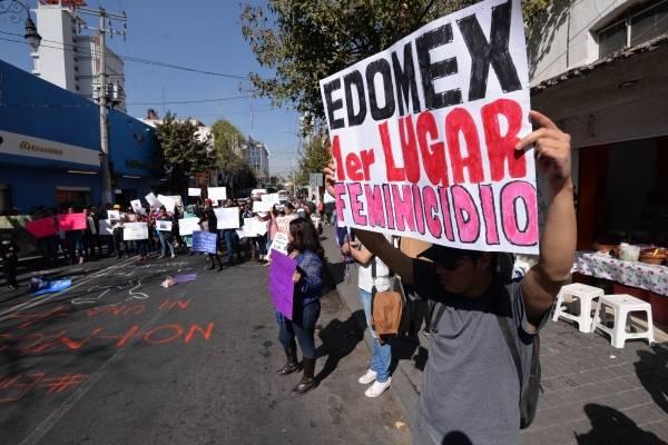 Feminicidios en el Edomex no paran