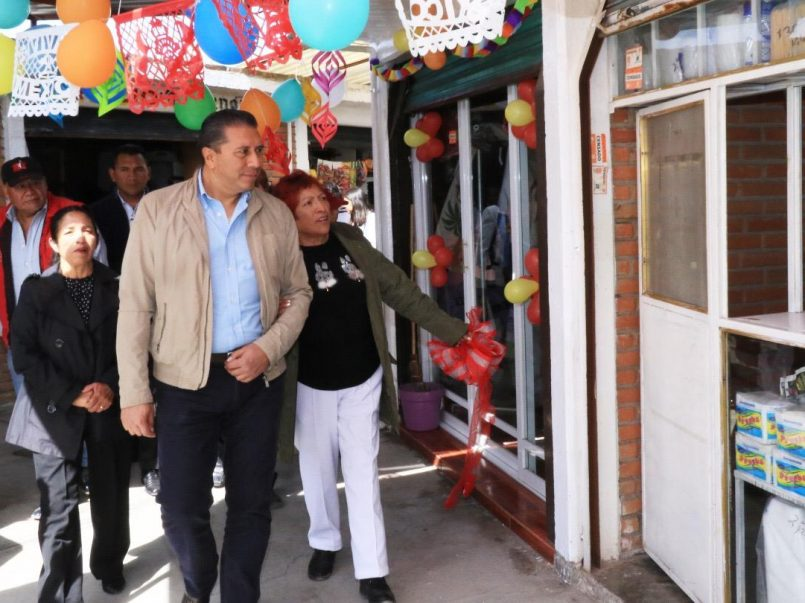 Mercado La Cruz Comalco Toluca