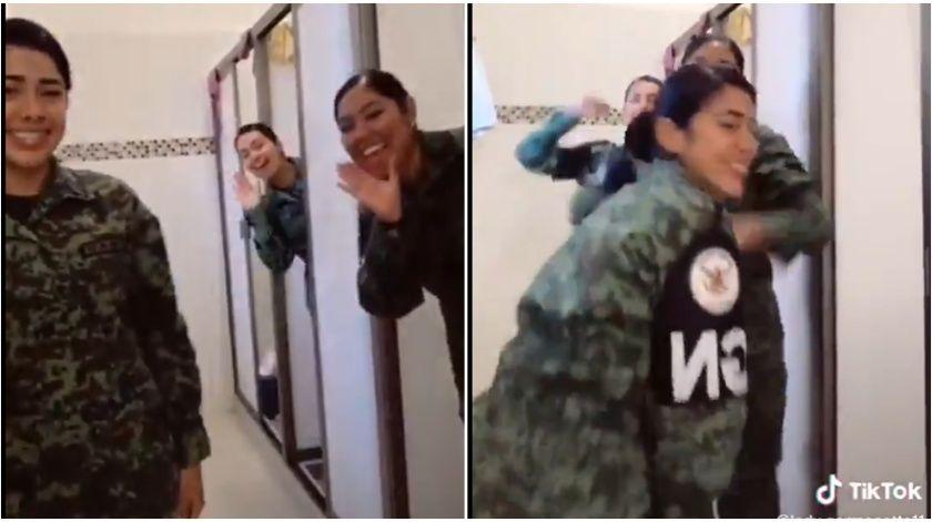 Mujeres-de-la-Guardia-Nacional-Perreando
