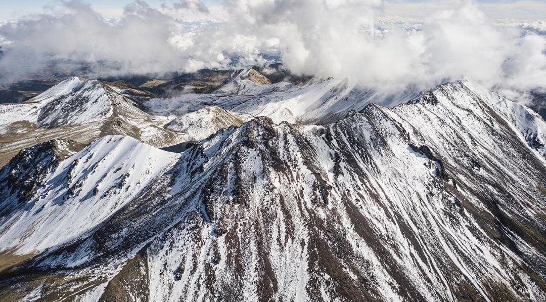 Nevado de Toluca Dron