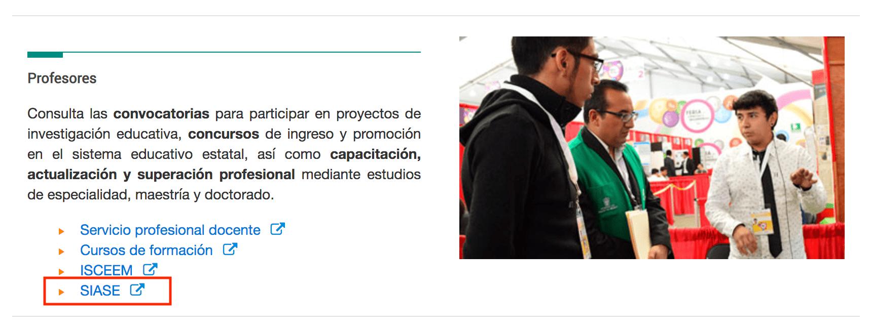 Sistema Integral de Administración de la Secretaria de Educación del Estado de México