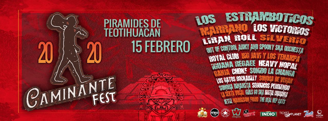 Caminante Fest en Teotihuacán