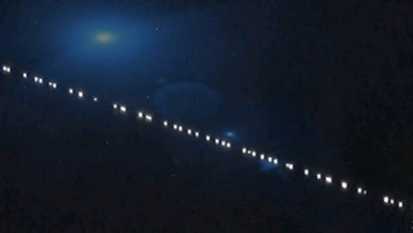 Esta es la explicación de la linea de luces que se visualizó en el cielo de Toluca