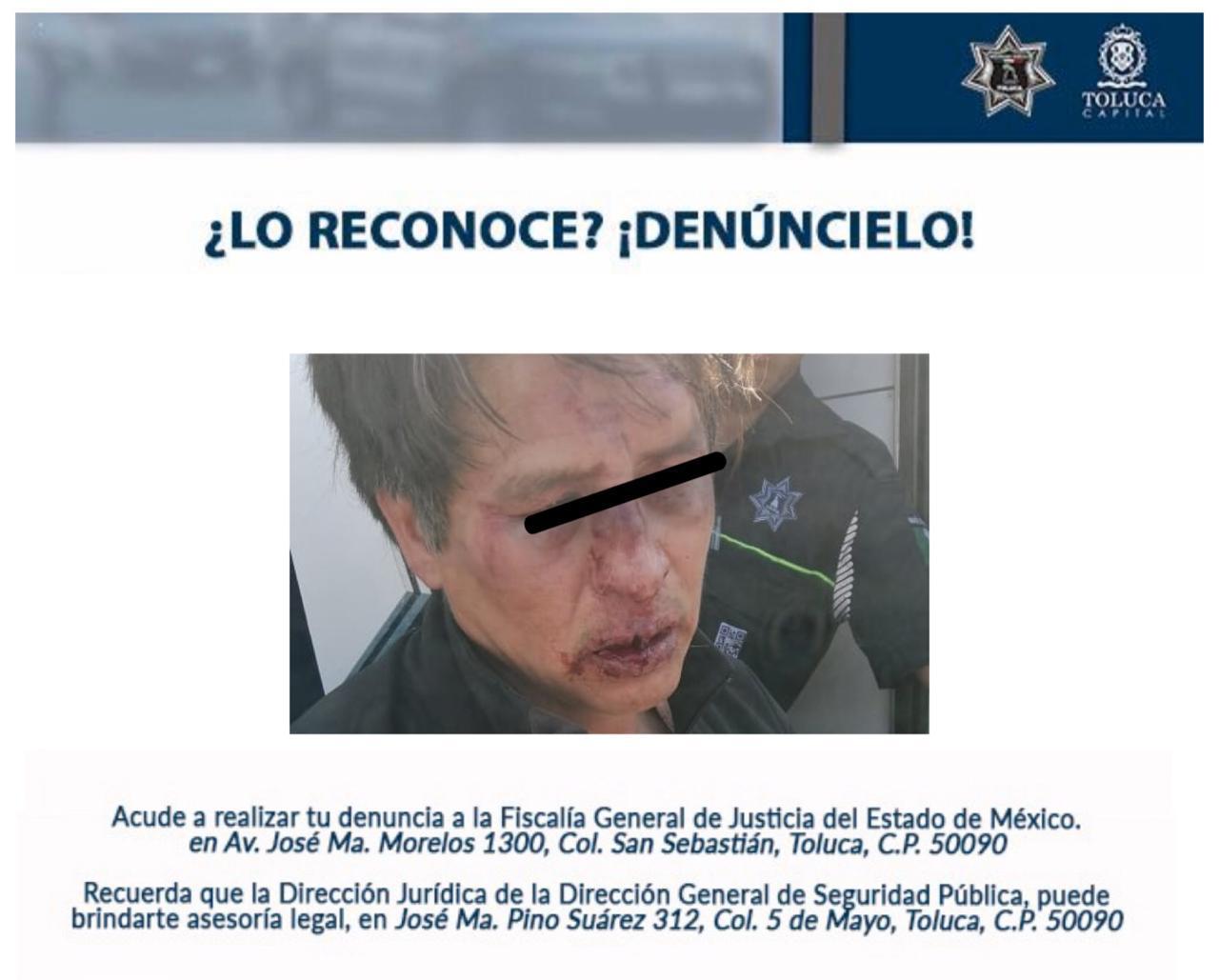 Golpean a sujeto por intentar robarse a un niño en Toluca