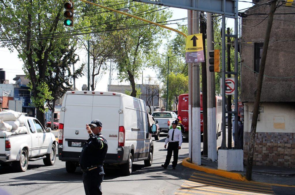 Inician cambios a la circulación en vialidades de Toluca