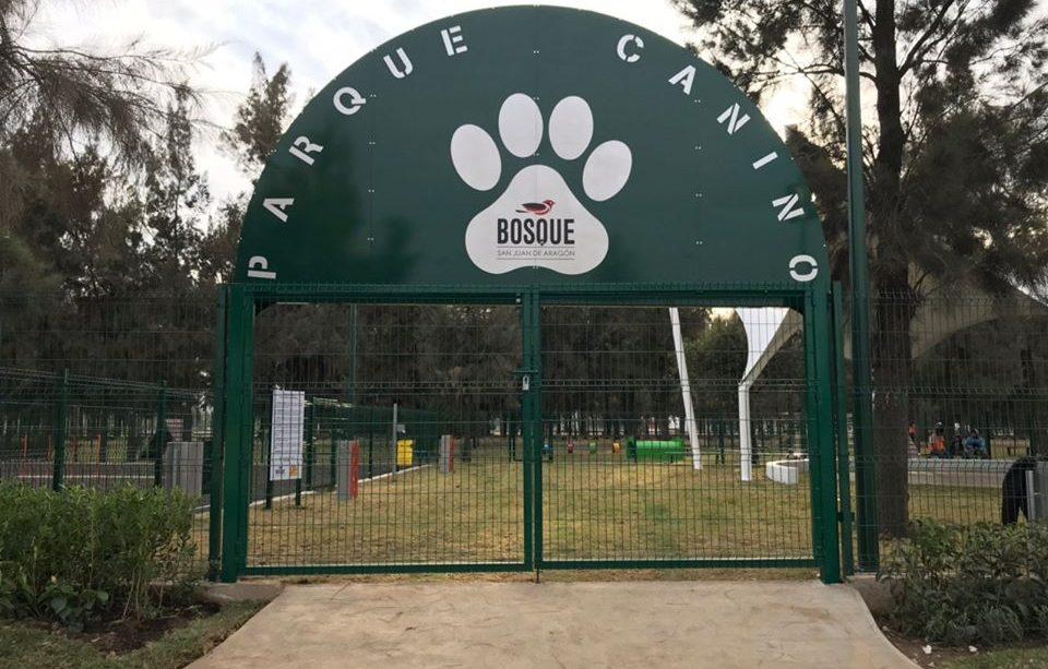 parque para perros en bosque de aragon