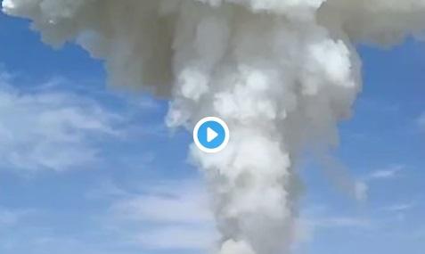 Registran explosión de polvorín en Zumpango, EdoMéx