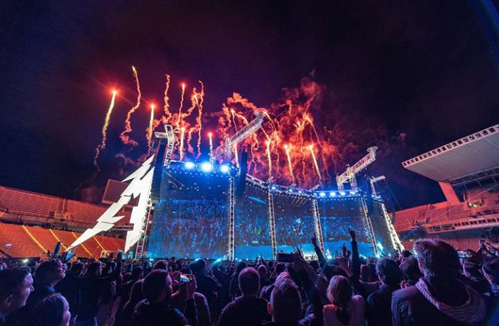 Metallica regresa a México en 2020