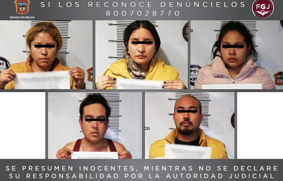 Detienen a probables secuestradores en Metepec