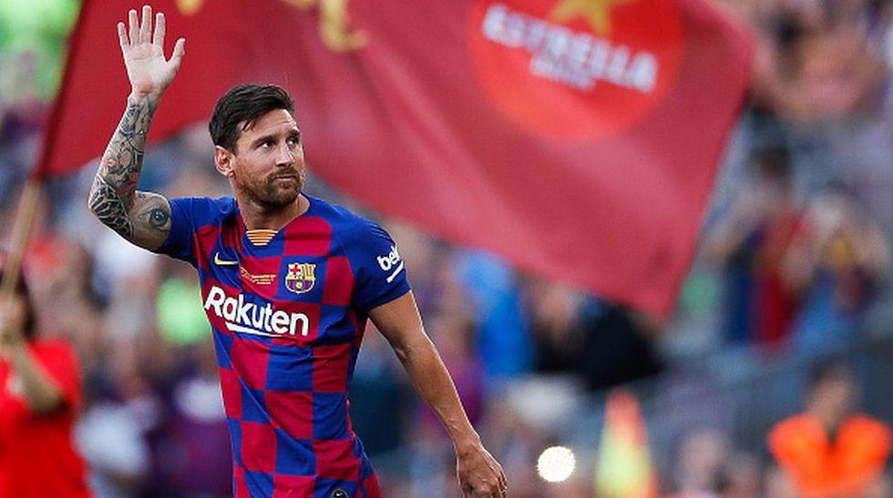 Lionel Messi con posibilidades de salir del Barcelona