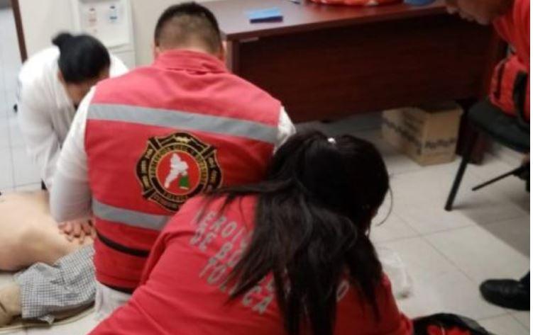 Muere trabajador en el Ayuntamiendo de Toluca