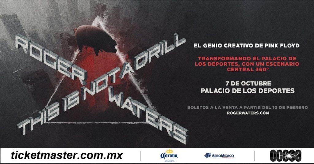 Roger Waters regresa a Mexico en 2020
