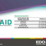 Preinscripciones preescolar convocatoria EdoMex 2020 - 2021 SAID
