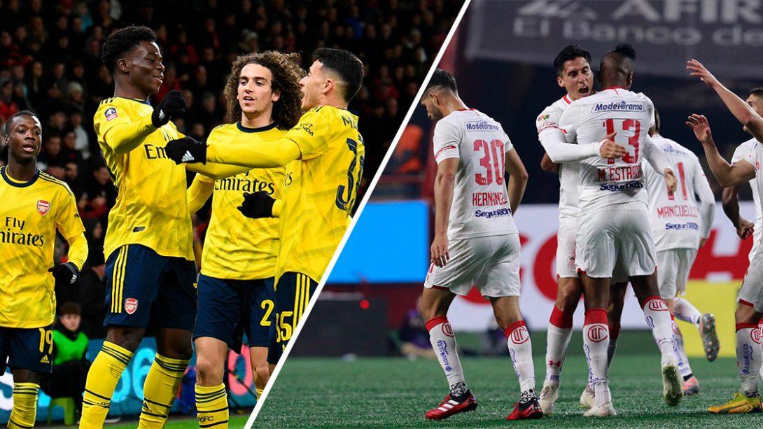 Toluca FC vs Arsenal- Siempre tendrán las puertas abiertas de nuestro Estadio Nemesio Diez
