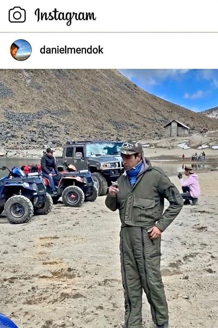 Funcionario del EDOMÉX burla restricciones para hacer una fiesta en Nevado de Toluca