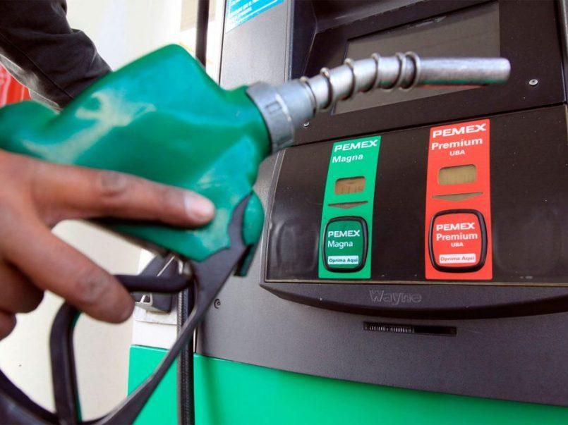 Costo de de la gasolina baja de precio en Toluca