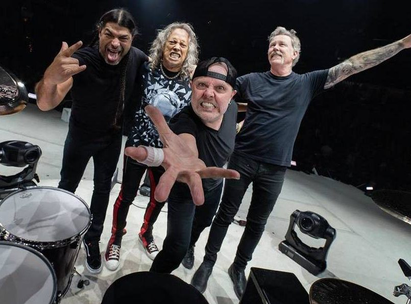 Metallica ofrecerá conciertos en streaming cada lunes