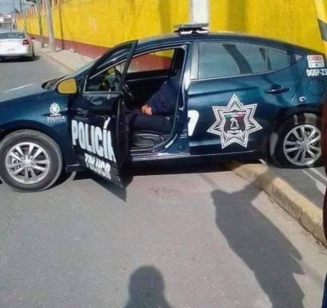 Policía de Toluca abatido en San Lorenzo Tepaltitlán