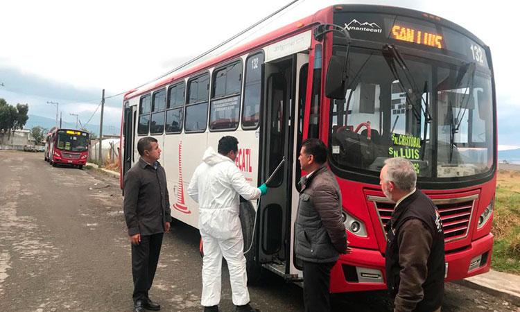 Tras la cuarentena, ¿operará de manera normal el transporte público del Edomex?