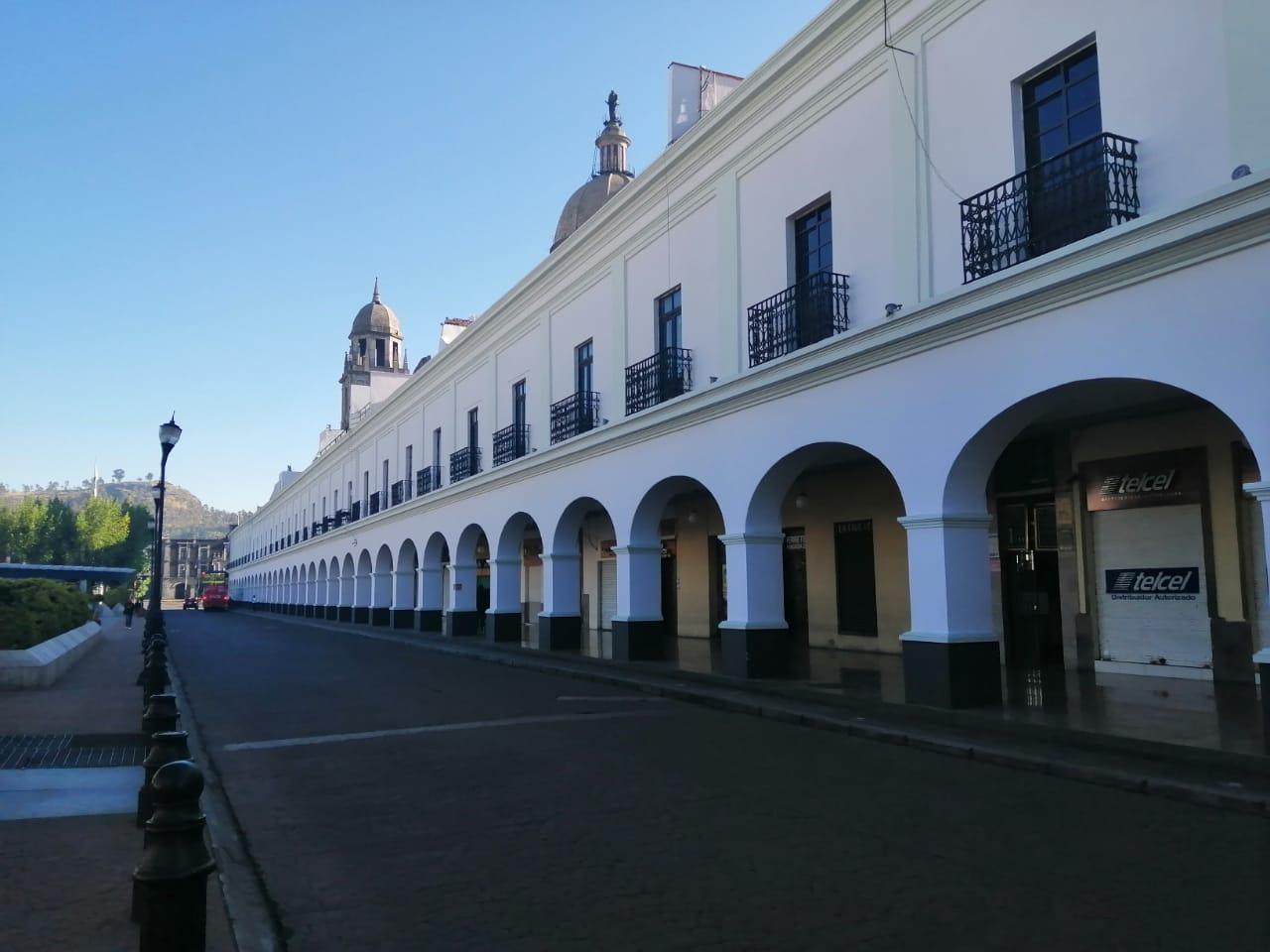 Portales de Toluca durante COVID-19